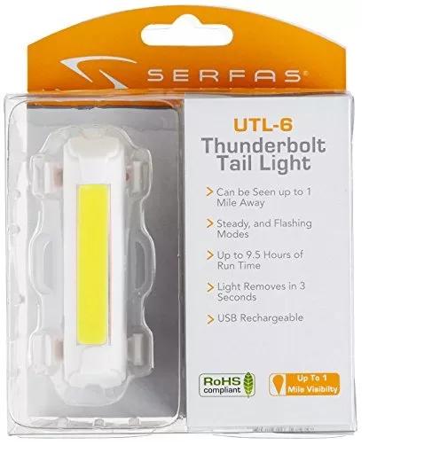 Lanterna Dianteira Serfas Thunderbolt UTL-6CL - BIKE ALLA CARTE