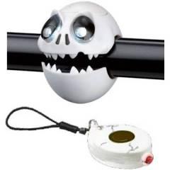 Kit Farol Lanterna CRAZY STUFF Caveira