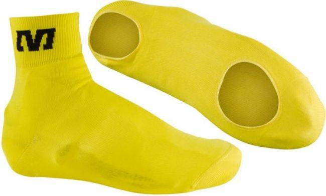 Capa para Sapatilha Mavic Knit Cover Amarela  - BIKE ALLA CARTE