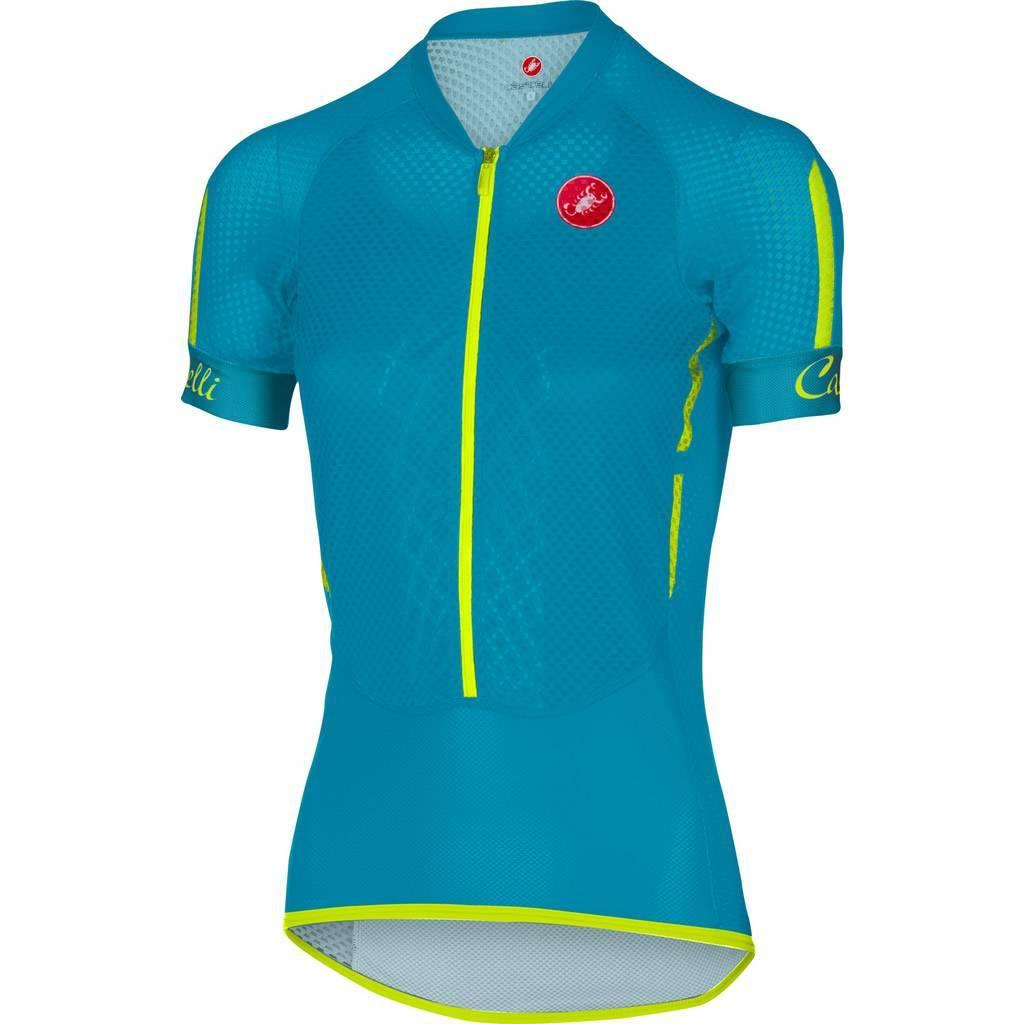 Camisa Castelli Feminina Climber Caribean  - BIKE ALLA CARTE