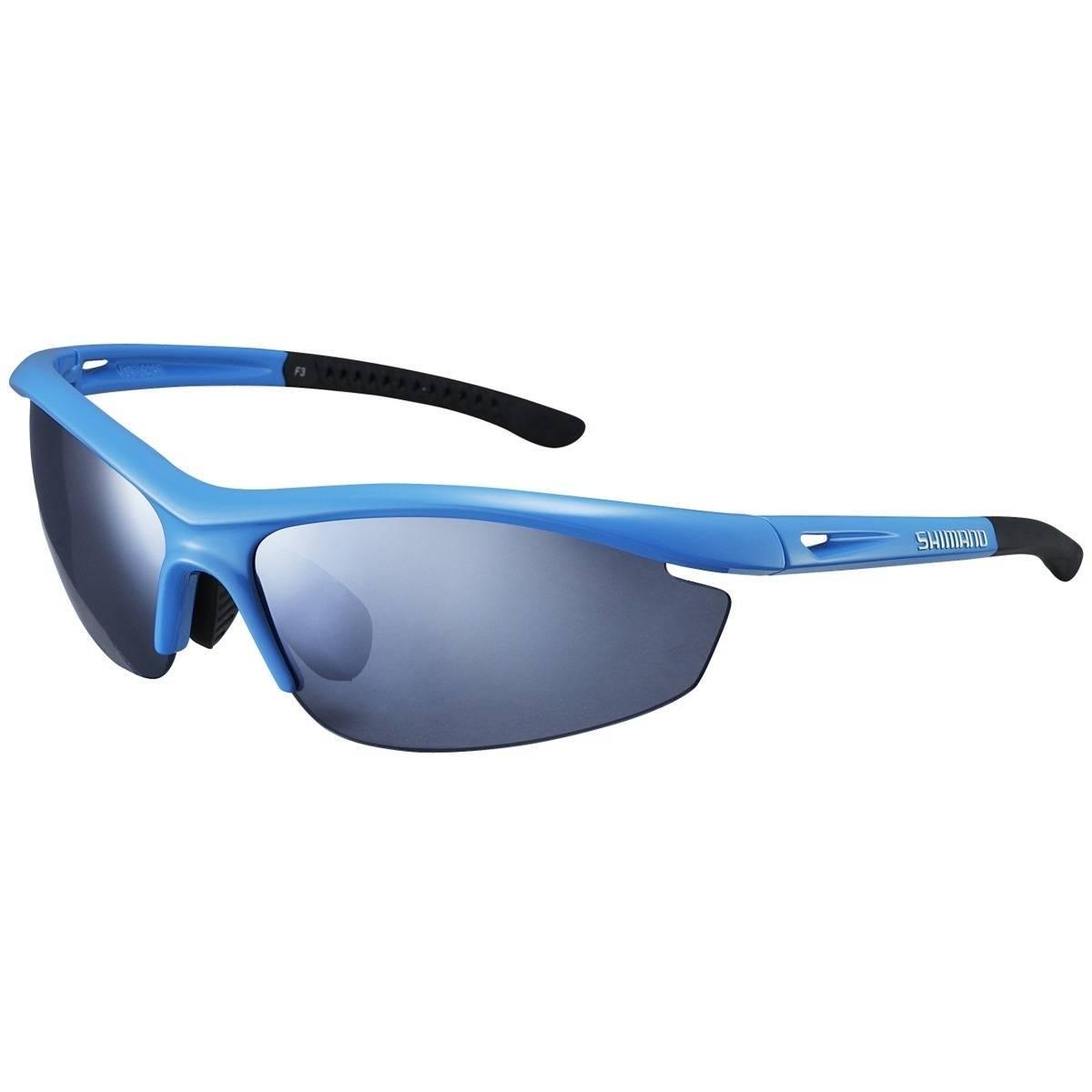 Óculos Shimano S20R Azul Claro  - BIKE ALLA CARTE