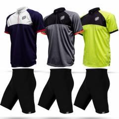 Conjunto Bermuda + Camisa Asw Lazer 18