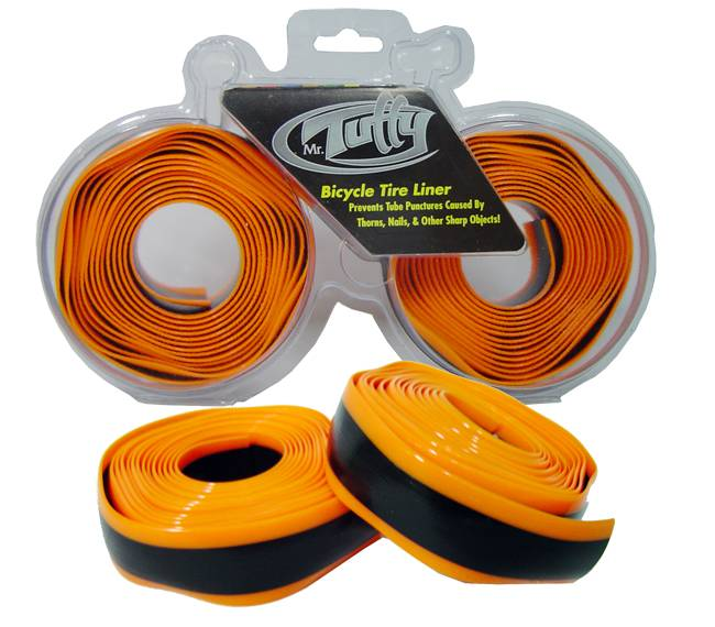 Fita Antifuros Mr. Tuffy Speed 23mm Aro 700 - Laranja - BIKE ALLA CARTE