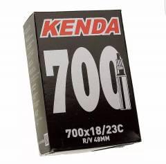 Câmaras de Ar 700X18/23 Kenda Presta 48mm Speed