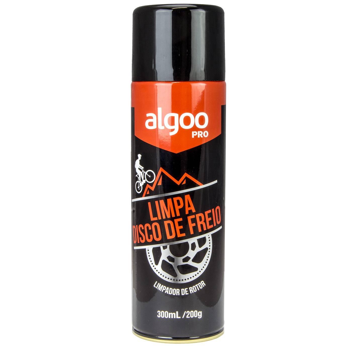 Limpa Disco de Freio Algoo PRO Spray 300ml - BIKE ALLA CARTE