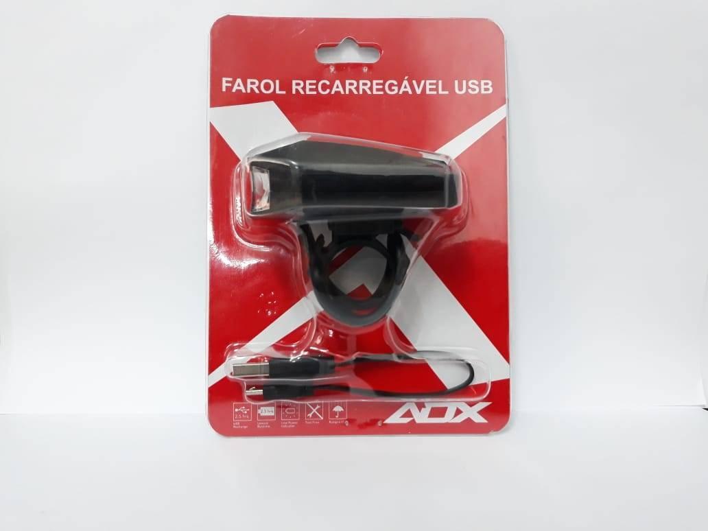 Farol ADX 200 Lumens USB - BIKE ALLA CARTE