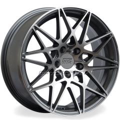 Jogo de rodas réplicas BMW M3 2016 Grafite 20x8,5 e 20x9,5 5x120