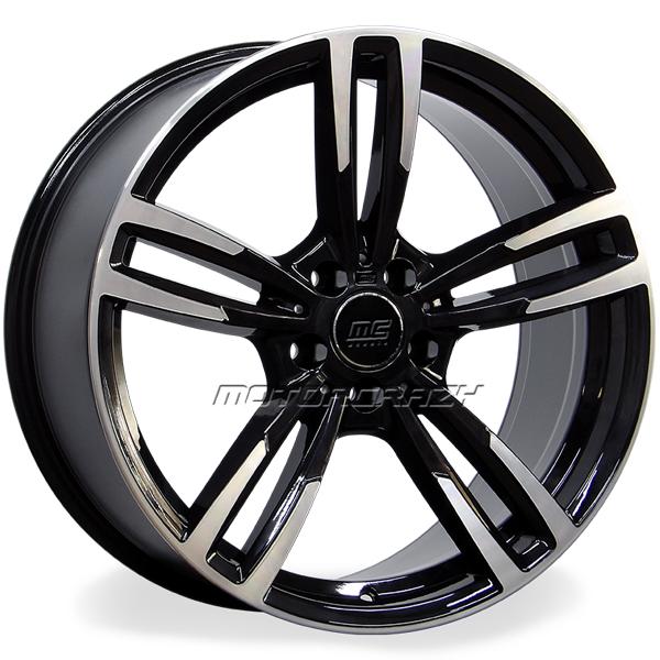 Jogo de rodas réplicas BMW M3 2015 Preto 19x8 5x112 ET35 - ATS Pneus