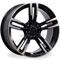 Jogo de rodas réplicas BMW M3 2015 Preto 18x8 e 18x8,5 5x120