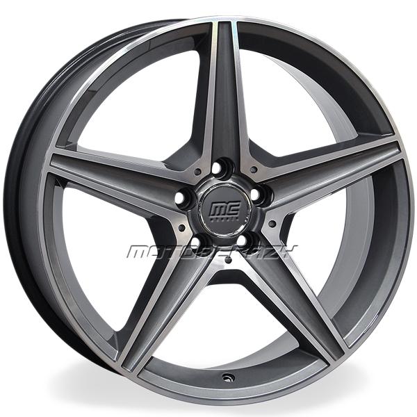 Jogo de rodas réplicas Mercedes C250 Sport Grafite 17x8 5x112 ET45 - ATS Pneus