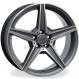 Jogo de rodas réplicas Mercedes C250 Sport Grafite 17x8 5x112 ET45