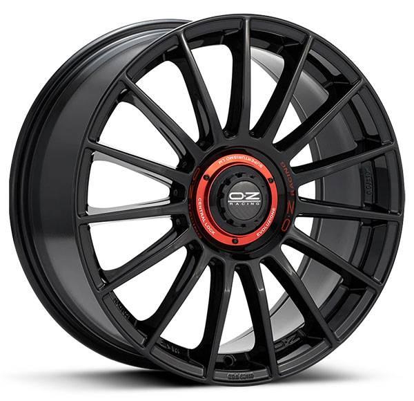 Jogo de Rodas OZ Superturismo Evoluzione Gloss Black 20x8,5 5x112 - ATS Pneus