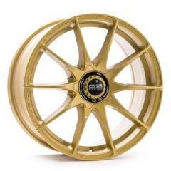 Jogo de Rodas OZ Formula HLT Race Gold 18x8 5x100