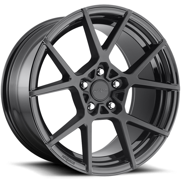 Jogo de rodas Rotiform KPS Matte Black 19x8,5 5x112 - ATS Pneus