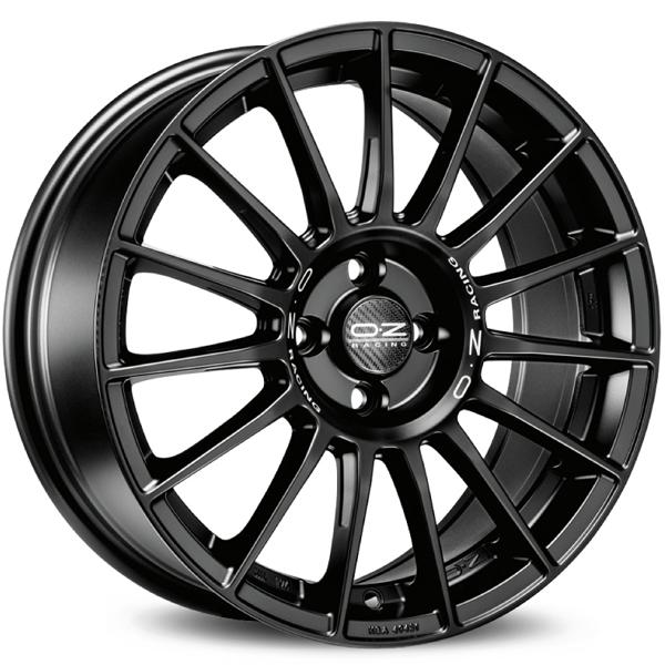 Jogo de Rodas OZ Superturismo LM Matte Black 18x8 5x112 - ATS Pneus