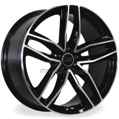 Jogo de rodas réplicas Audi RS6 Preto 19x8 5x112 ET45