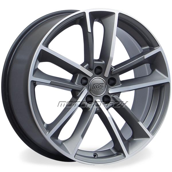 Jogo de rodas réplicas Audi RS7 Performance Grafite Fosco 18 - ATS Pneus