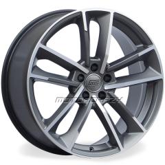 Jogo de rodas réplicas Audi RS7 Performance Grafite Fosco 19x8,5 5x112 ET45