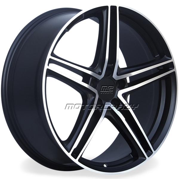 Jogo de rodas réplicas Mercedes AMG GT Preto 18x8 e 18x9 5x1 - ATS Pneus
