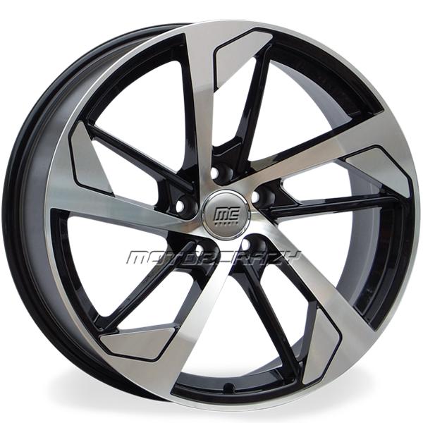 Jogo de rodas réplicas Audi RS5 Preto 19x8,5 5x112 ET42 - ATS Pneus