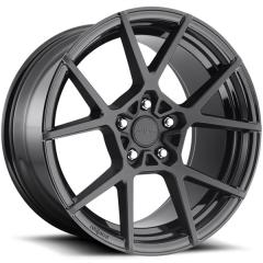 Jogo de rodas Rotiform KPS Matte Black 20x8,5 5x112