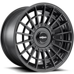 Jogo de rodas Rotiform LAS-R Matte Black 18x8,5 5x112 e 5x114,3