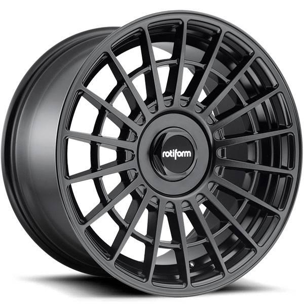 Jogo de rodas Rotiform LAS-R Matte Black 18x8,5 5x112 e 5x114,3 - ATS Pneus