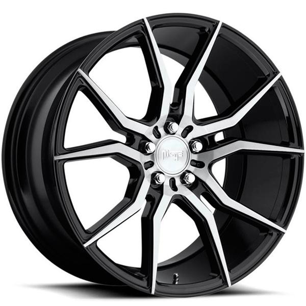 Jogo de rodas Niche Ascari Matte Black 19x8,5 5x112 - ATS Pneus
