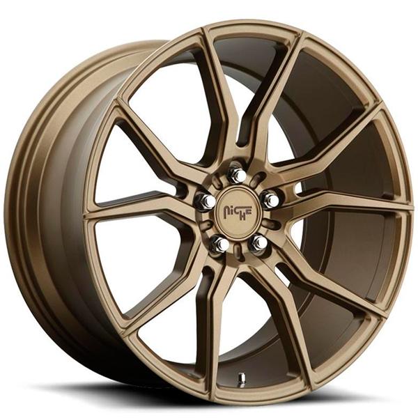 Jogo de rodas Niche Ascari Bronze 20x9 e 20x10 5x120 - ATS Pneus