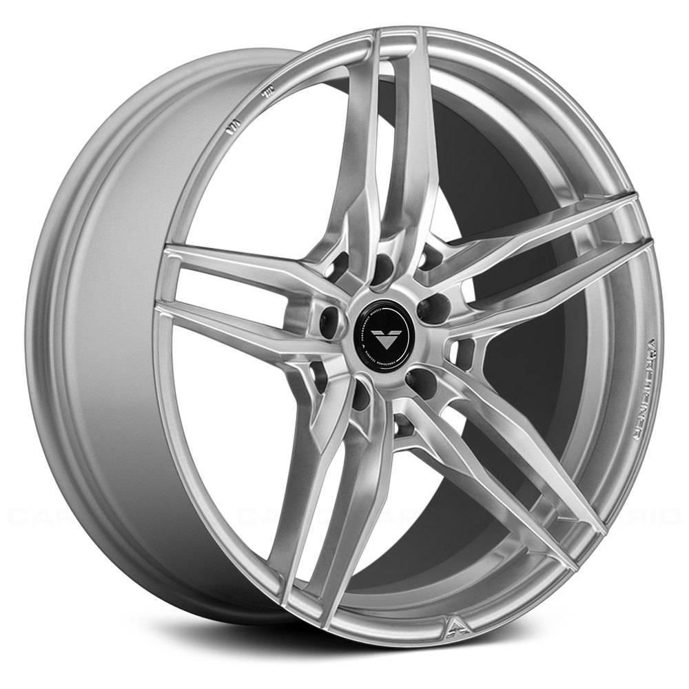 Jogo de rodas Vorsteiner V-FF 110 Zara Gray 20x9,5 e 20x10,5 5x120 - ATS Pneus