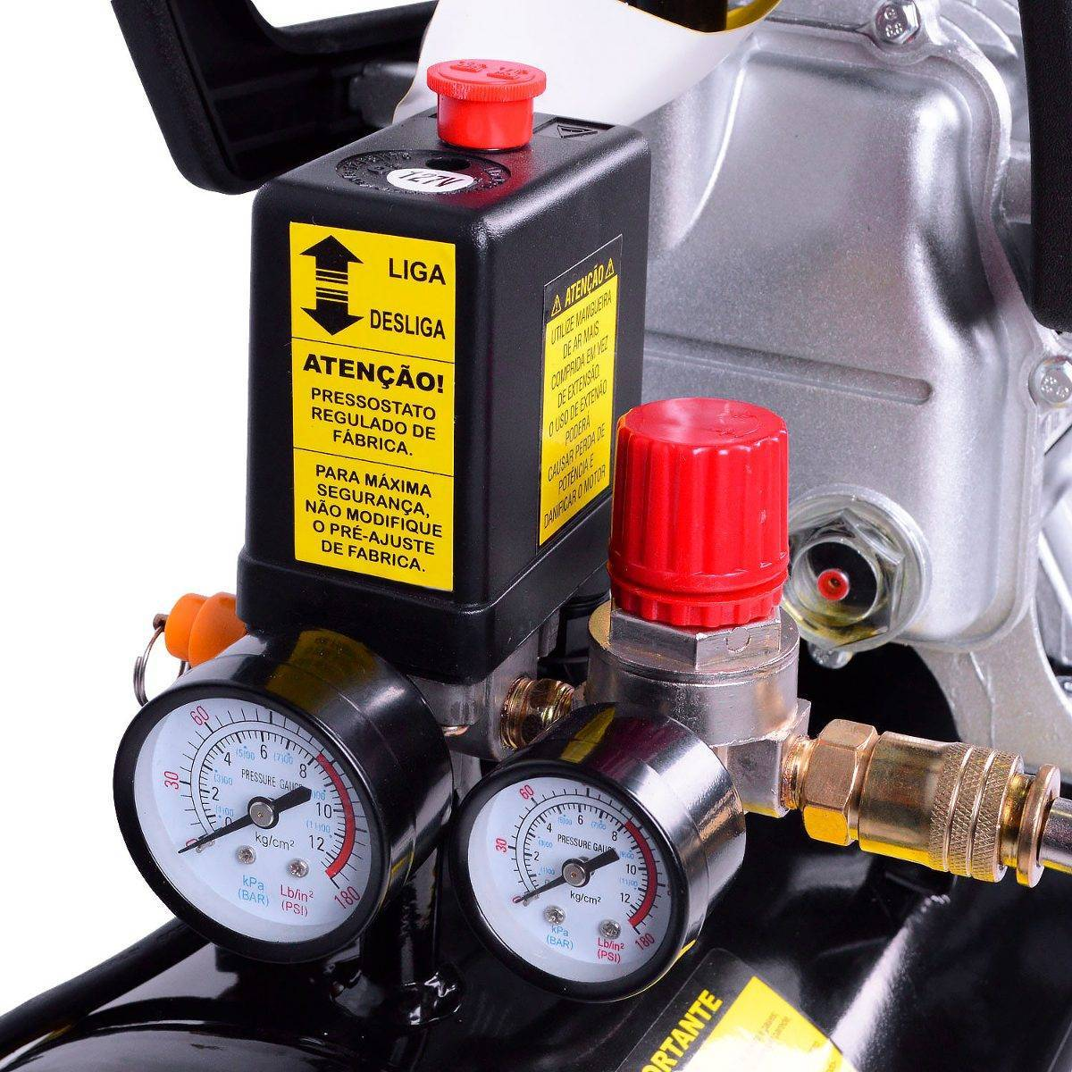 Motocompressor De Ar Lynus 7,4 24lts 127v - CASA DO FRENTISTA