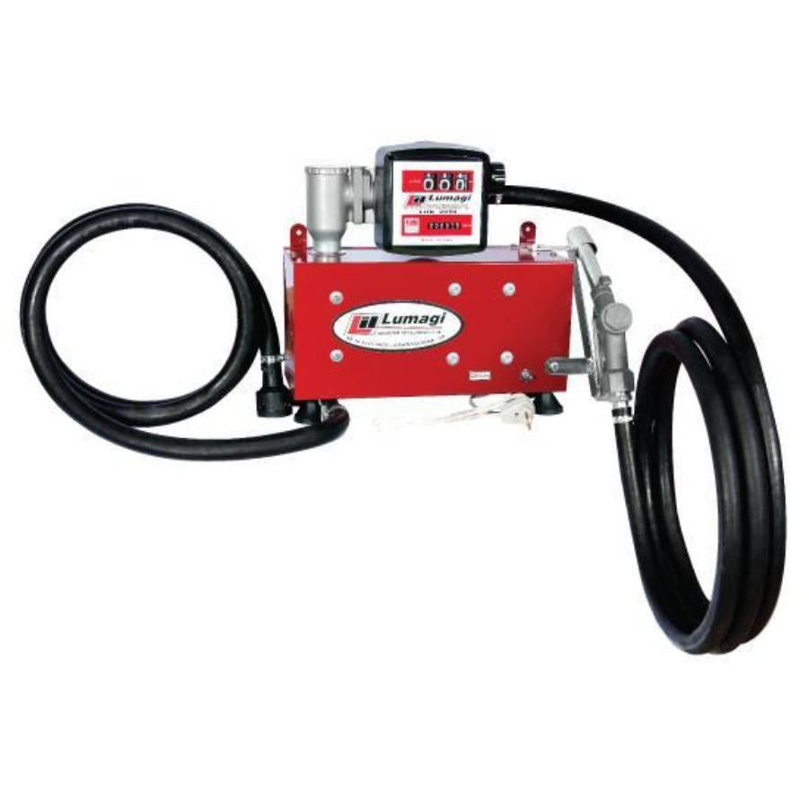 Bomba kit de abastecimento de Óleo Diesel com Medidor 110V - CASA DO FRENTISTA