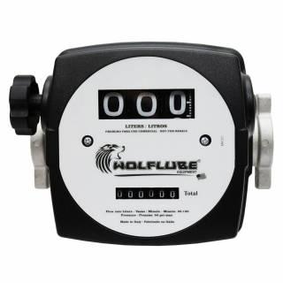 Medidor de vazão Mecânico para Diesel 3 dígitos 120Lpm Lupus