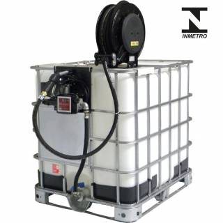 Bomba de Abastecimento com Reserv 1000L e Carretel Lupus 9300-C