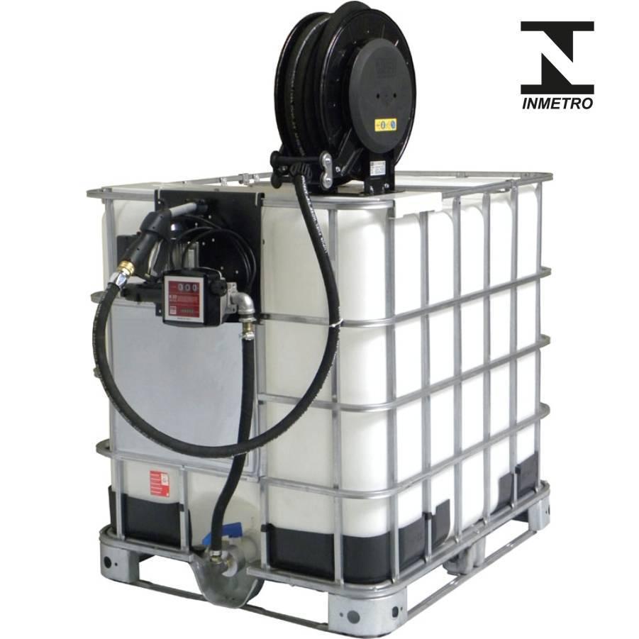 Bomba de Abastecimento com Reserv 1000L e Carretel Lupus 930 - CASA DO FRENTISTA
