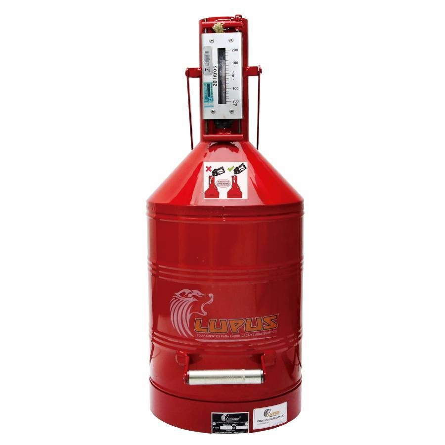 Aferidor de Combustível Homologado pelo Inmetro Lupus 9004 - CASA DO FRENTISTA
