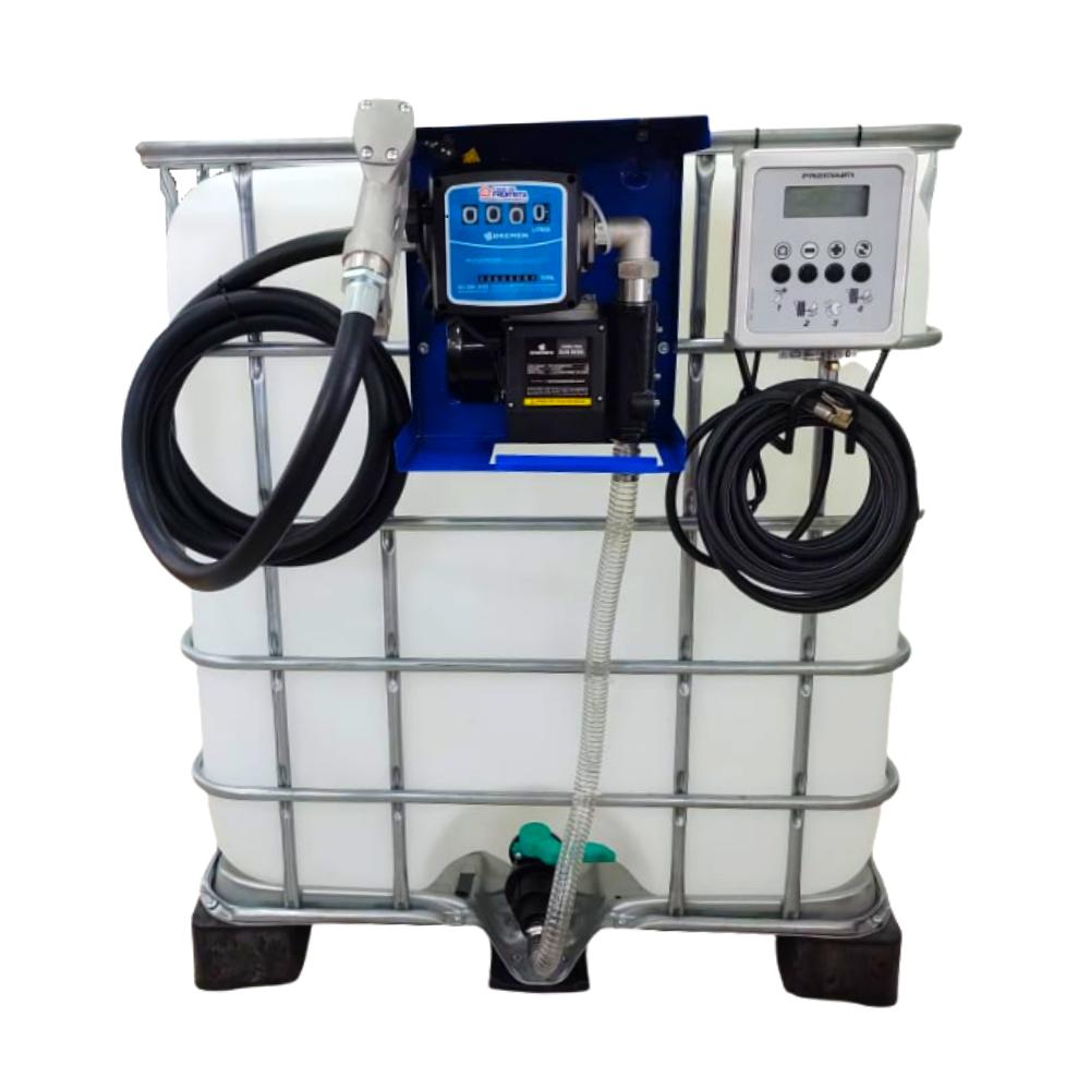Kit Completo de Abastecimento para Diesel com Reservatório - CASA DO FRENTISTA