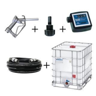 Kit para Abastecimento de Diesel por Gravidade com Bico e Medidor