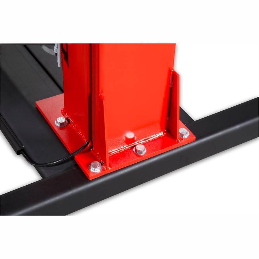 Elevador Automotivo GP Motors Vermelho 4100 kg 220V Trifásic - CASA DO FRENTISTA