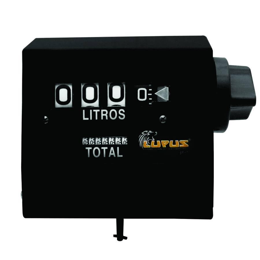 Medidor Mecânico de vazão para bombas de abastecimento Lupus - CASA DO FRENTISTA