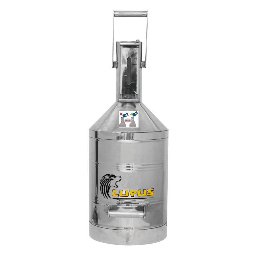 Aferidor para Arla 32 Aço Inox 20L Homologado pelo Inmetro - CASA DO FRENTISTA
