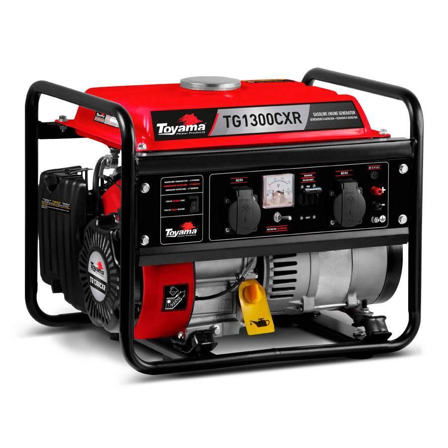 Gerador de Energia a Gasolina 1.05 kVA Toyama TG1300CXR  - CASA DO FRENTISTA