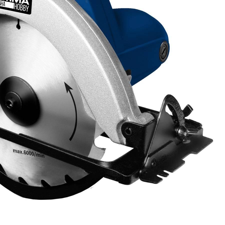 Serra Circular 1050W uso Hobby 7¼ Polegadas Gamma GH1301/BR1 - CASA DO FRENTISTA