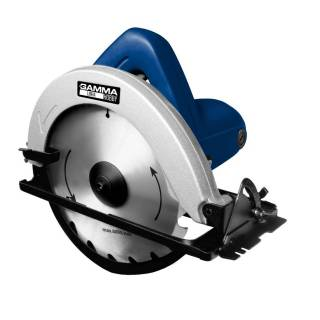 Serra Circular 1050W uso Hobby 7¼ Polegadas Gamma GH1301/BR1 - 127V