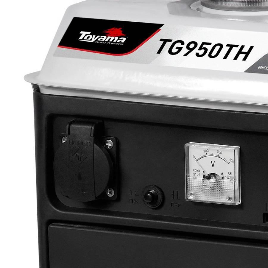 Gerador de Energia à Gasolina 0,85 KVA Toyama TG950TH 127 V - CASA DO FRENTISTA