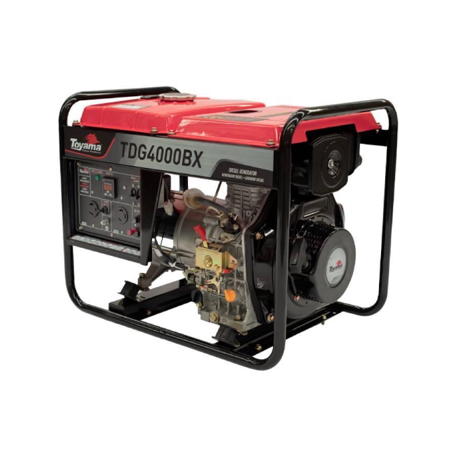 Gerador a Diesel 3 kVA 296cc Toyama TDG4000BX - CASA DO FRENTISTA