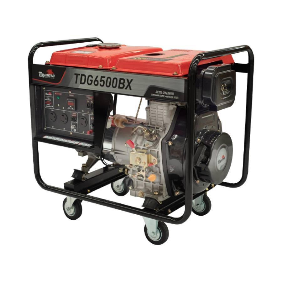 Gerador a Diesel 5.5 kVA 406cc Toyama TDG6500BX - CASA DO FRENTISTA