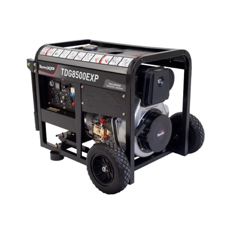 Gerador a Diesel 6.5 kVA Toyama TDG8500EXP Monofásico - CASA DO FRENTISTA
