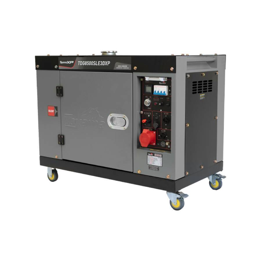 Gerador a Diesel 7.5 kVA 13.5 HP 220V Toyama TDG8500SLE3DXP - CASA DO FRENTISTA