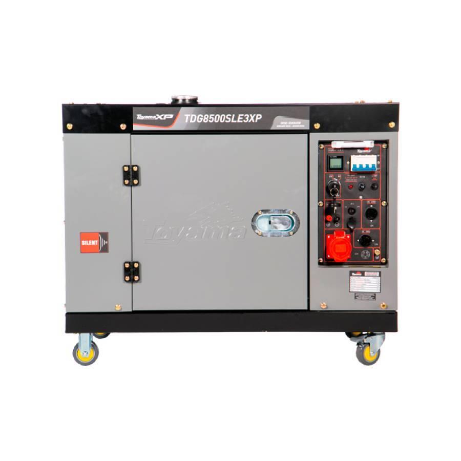 Gerador a Diesel 7 kVA 380V Toyama TDG8500SLE3XP - CASA DO FRENTISTA